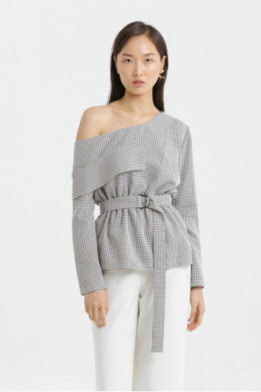 Houston One-Shoulder Top