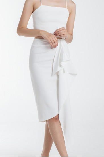 Yorksville Skirt in White