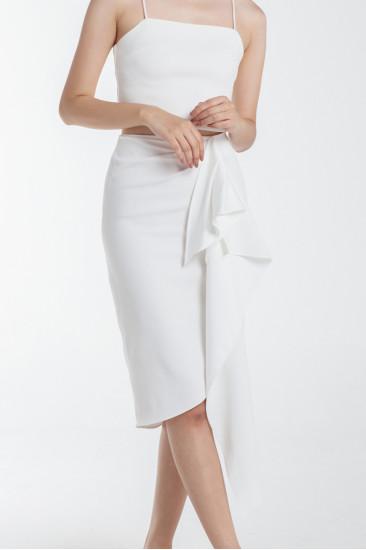 Yorksville Skirt in White