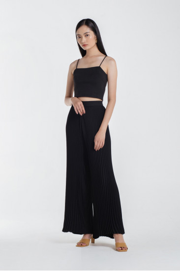 Camille Crop Top in Black