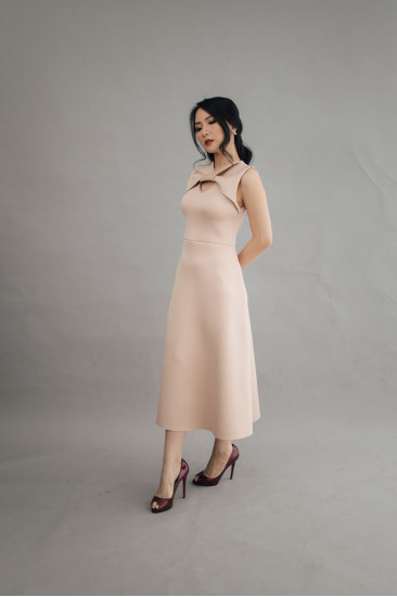 Maison Dress in French Rose