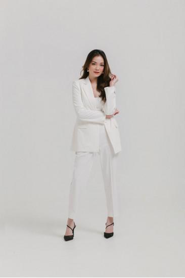 Femme Cropped Straight-leg Pants