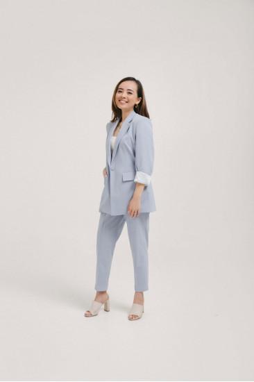 Femme Blazer and Long Pants Set