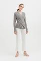 Kingston Knit Top in Gray