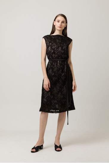 Loulou Pleated Dress