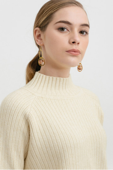 Carlton Sweater in creme