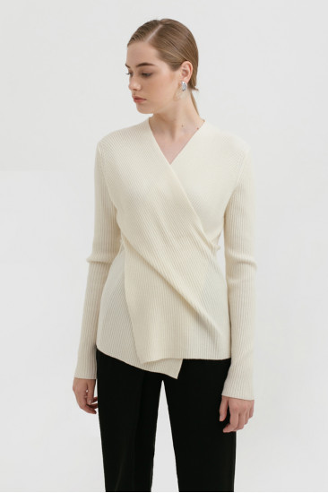 Kingston Knit Top in creme