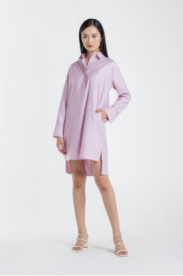 FAITH BASIC SHIRT DRESS