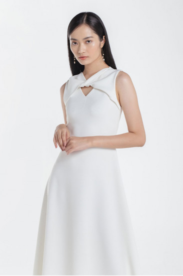 Maison Dress in White