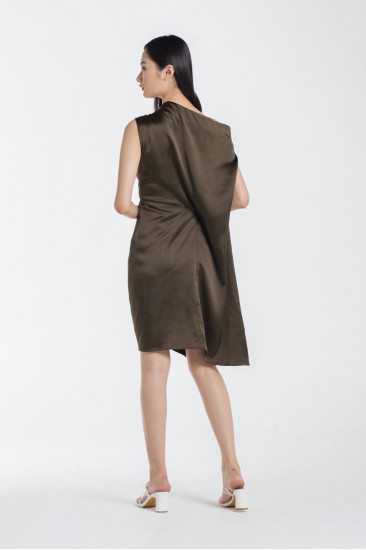 Marjorie Dress in Olive
